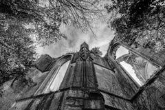 Alte Kirchen- und Abteiruinen im Loire Valley, Frankreich, Stockbilder