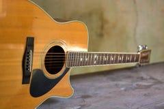 Alte klassische Gitarre Stockbilder