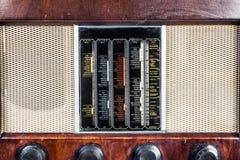 Alte klassische Radioweinlese stockbilder