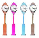 Alte klassische Uhrkammer Stockfotos