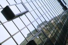 Alte klassische und neue Bürobauten Lizenzfreies Stockbild