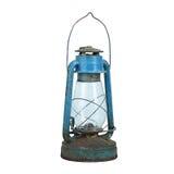Alte kleine Lampe lokalisiert auf Weiß Lizenzfreies Stockfoto