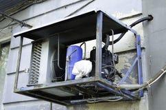 Alte Klimaanlage Lizenzfreies Stockbild