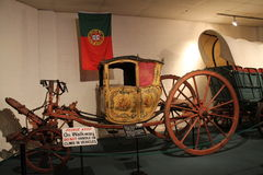 Alte königliche Kutsche Stockfoto