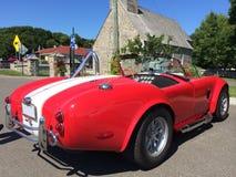 Alte Kobra wieder hergestellter Autosport Lizenzfreies Stockfoto