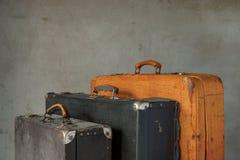 Alte Koffer Stockfotografie