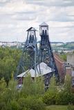 Alte Kohlengrube nahe Charleroi, Belgien Lizenzfreie Stockfotografie