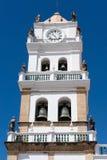 Alte Kolonialkirche im Sucre, Bolivien. Lizenzfreie Stockfotografie