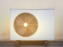 Alte Kompressoren Klimaanlage Stockbilder