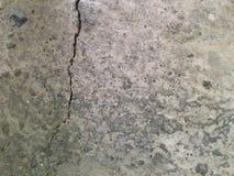 Alte konkrete Bodenbeschaffenheit für Hintergrund Lizenzfreies Stockbild