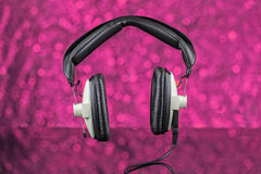 Alte Kopfhörer Lizenzfreie Stockbilder