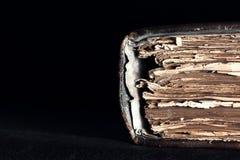Alte Kopie der Buch Bibel Stockfoto