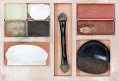 Alte Kosmetik eingestellt Stockfotografie