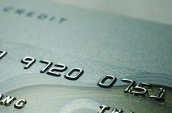 Alte Kreditkarte der Nahaufnahme Lizenzfreies Stockbild
