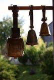 Alte Kuh Bell, Tschechische Republik lizenzfreies stockbild