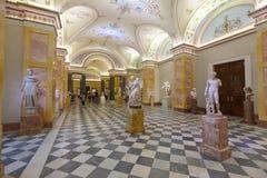 Alte Kunst in der Zustands-Einsiedlerei. St Petersburg Lizenzfreie Stockfotografie