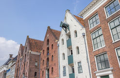 Alte Lager beim Hoge Der A in Groningen Stockbild