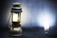 Alte Lampe Lizenzfreie Stockfotografie