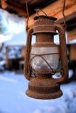 Alte Lampe stockbild