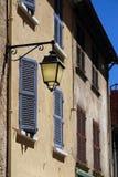 Alte Lampe in Provence, Frankreich Lizenzfreie Stockbilder