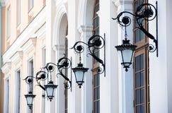 Alte Lampen Stockfotografie