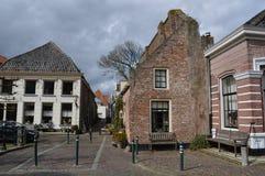 Alte Landhäuser und Häuser in Hanzetown Elburg Lizenzfreie Stockfotos