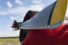 Alte landwirtschaftliche Flugzeuge sonderkommandos Stockfoto