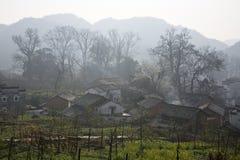 Alte landwirtschaftliche Häuser Stockfotografie