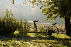 Alte landwirtschaftliche Maschine Lizenzfreie Stockfotos