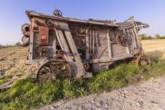 Alte landwirtschaftliche Maschine Lizenzfreies Stockbild
