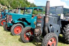 Alte landwirtschaftliche Maschinerie Lizenzfreies Stockfoto