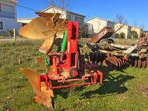 Alte landwirtschaftliche Maschinerie Lizenzfreie Stockfotos