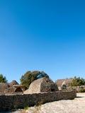 Alte landwirtschaftliche Nebengebäude in Frankreich Stockfotografie