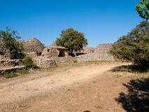 Alte landwirtschaftliche Nebengebäude in Frankreich Stockfoto