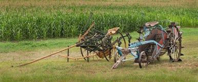Alte Landwirtschafts-Maschinerie Lizenzfreies Stockfoto