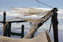 Alte Lappen, die in den Wind sich bewegen lizenzfreies stockfoto