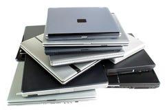 Alte Laptope Lizenzfreies Stockfoto