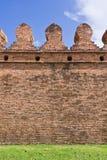 Alte Lateritewand Stockbild