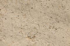 Alte Lehmwandbeschaffenheit als abstrakter Schmutzhintergrund Lizenzfreie Stockfotografie