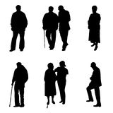Alte Leute Lizenzfreies Stockbild
