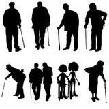 Alte Leute Stockbild