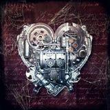 Alte Liebe verrostet nicht, Illustration 3D stock abbildung
