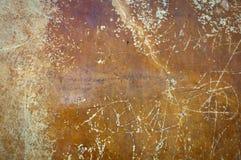 Alte Liebespoesie auf der Wand Stockfotografie