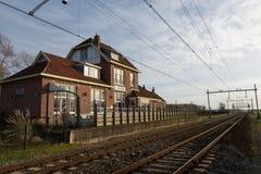 Alte Lisse-Bahnstation Lizenzfreie Stockbilder