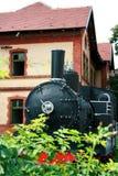 Alte Lokomotive Lizenzfreies Stockfoto