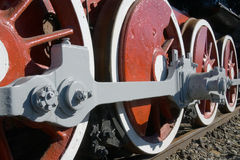 Alte Lokomotive Lizenzfreie Stockbilder