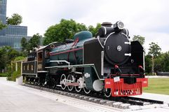 Alte Lokomotive Lizenzfreies Stockbild
