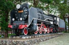 Alte Lokomotive stock abbildung