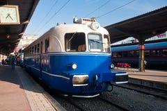 Alte Lokomotive - Bukarest, Rumänien Stockfotos