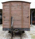 Alte Lokomotiven und Lastwagen Lizenzfreie Stockfotos